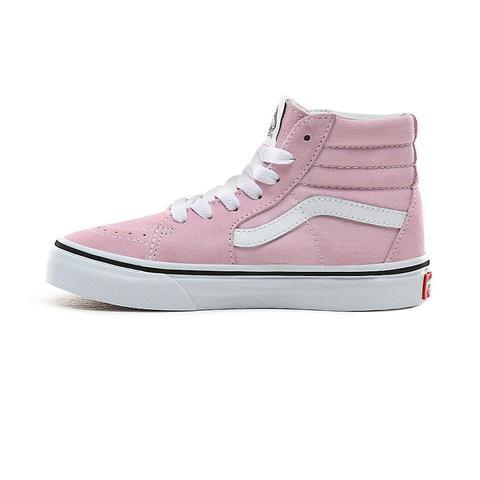 vans niño rosa