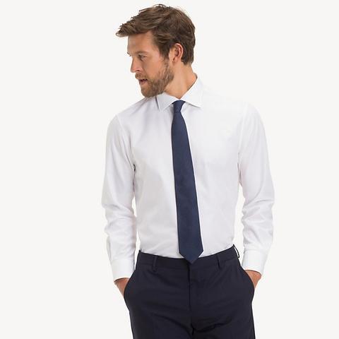 Camisa De Popelín Entallada