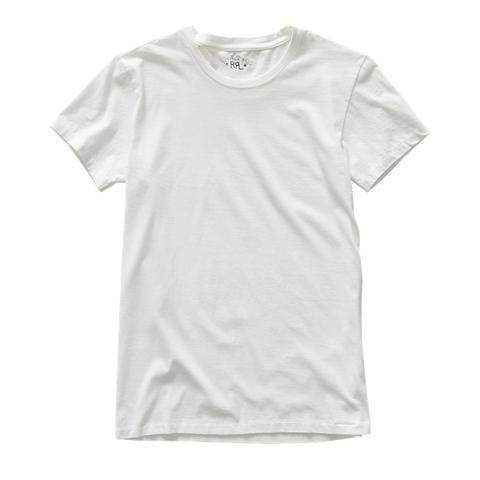 Camiseta De Punto Con Cuello Redondo de Ralph Lauren en 21 Buttons