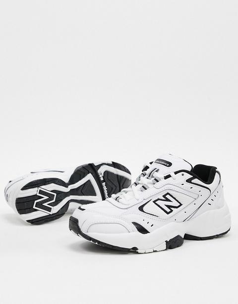 Zapatillas En Blanco Y Negro 452 De New Balance de ASOS en 21 Buttons