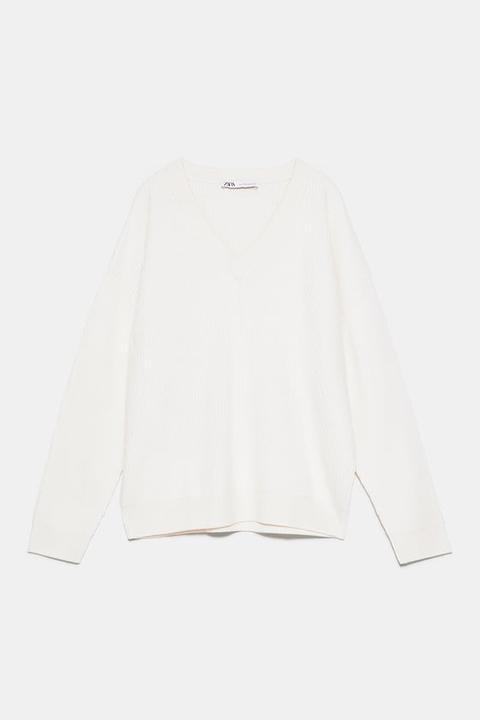 Jersey Lana Merino de Zara en 21 Buttons