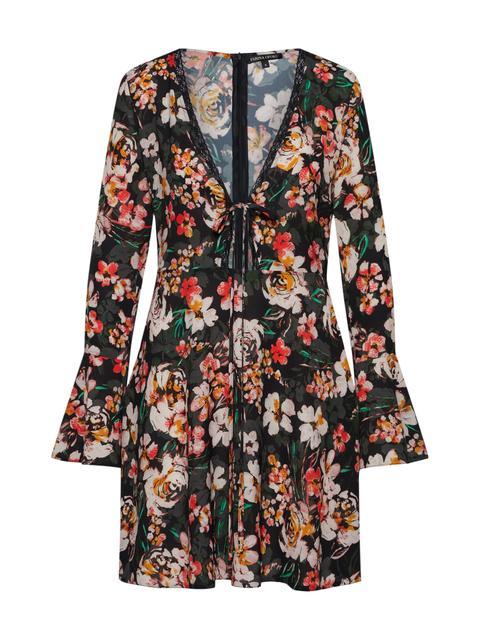 Jacken kleid Mit Blumenmuster from Zara on 21 Buttons