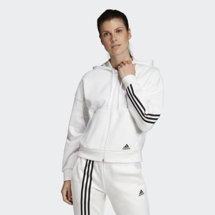 Chaqueta Con Capucha Must Haves 3 Bandas de Adidas en 21 Buttons