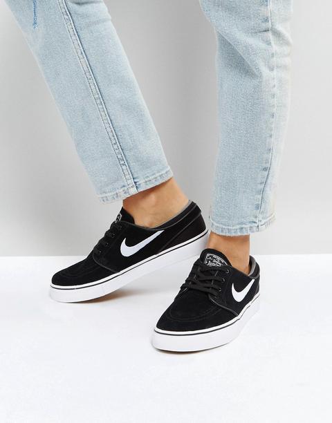 Hundimiento considerado Mansedumbre  Zapatillas De Deporte Negras De Ante Zoom Janoski De Nike Sb de ASOS en 21  Buttons