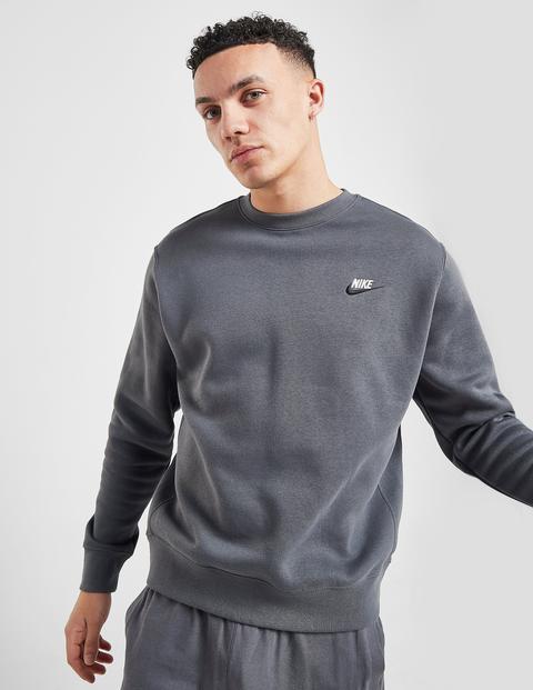 Biblia primavera Experto  Nike Foundation Crew Sweatshirt - Dark Grey - Mens from Jd Sports on 21  Buttons