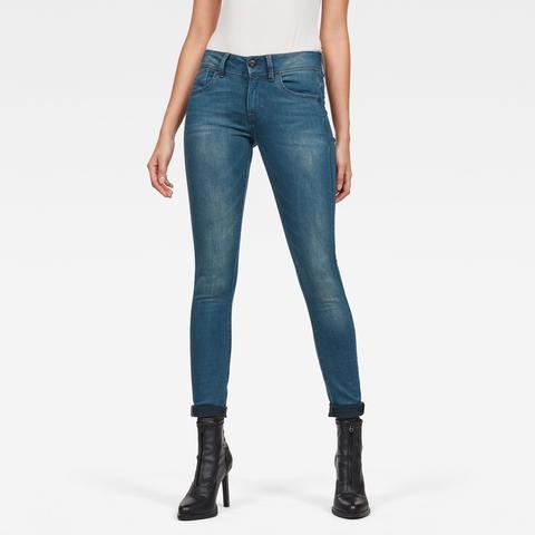Jeans Lynn Mid Skinny de G-STAR en 21 Buttons