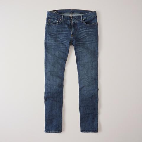 Jeans Rectos de Abercrombie & Fitch en 21 Buttons