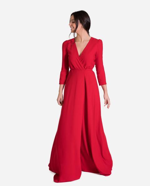 Vestido Eloise · Rojo de THE-ARE en 21 Buttons