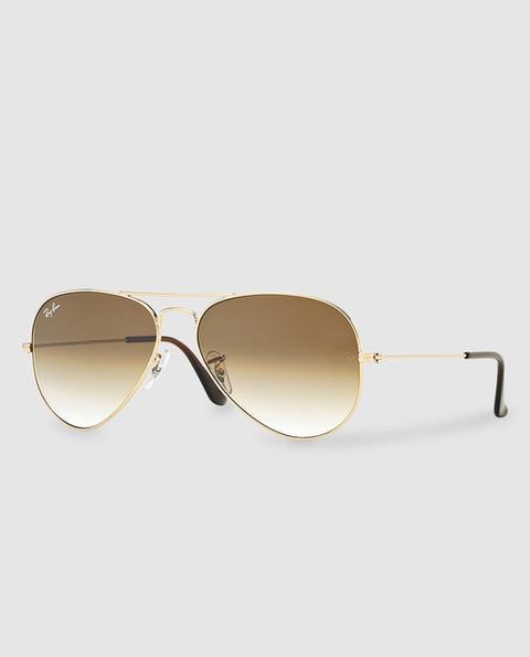 Ray-ban - Gafas De Sol Unisex Aviator Marrones de El Corte Ingles en 21 Buttons