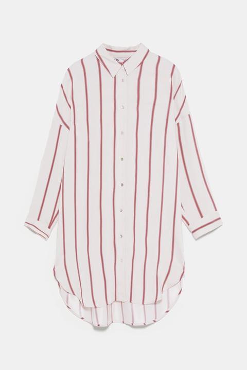 Camisa Oversize Rayas