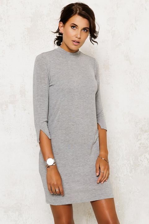 Turtle Dress Grey
