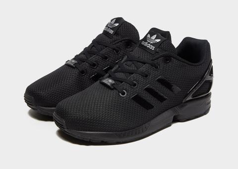 Adidas Originals Zx Flux Junior - Black - Kids from Jd Sports on 21 Buttons