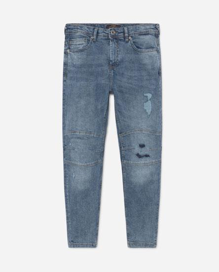 Jeans Skinny Rotos de Lefties en 21 Buttons