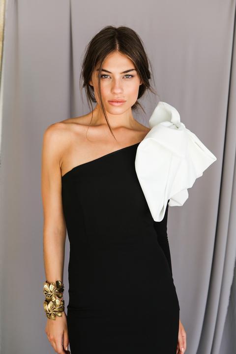 Vestido Dora Crepe