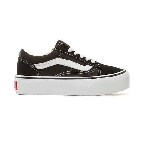 Vans Zapatillas De Niños Old Skool Con Plataforma (4-8 Años) (black) Niños Negro de Vans en 21 Buttons