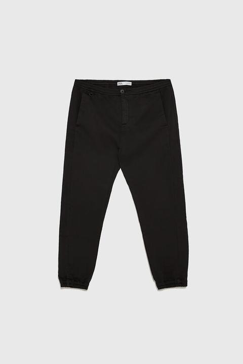 Pantalón Jogger Satinado