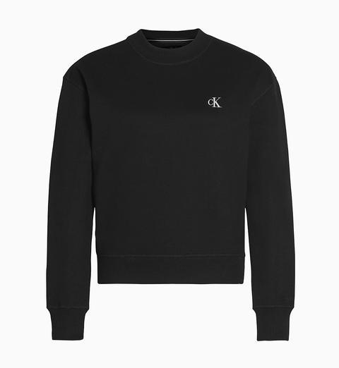 Sudadera Con Logo Bordado de Calvin Klein en 21 Buttons