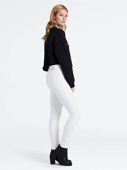 721™ High Waisted Skinny Jeans Blanco / Western White