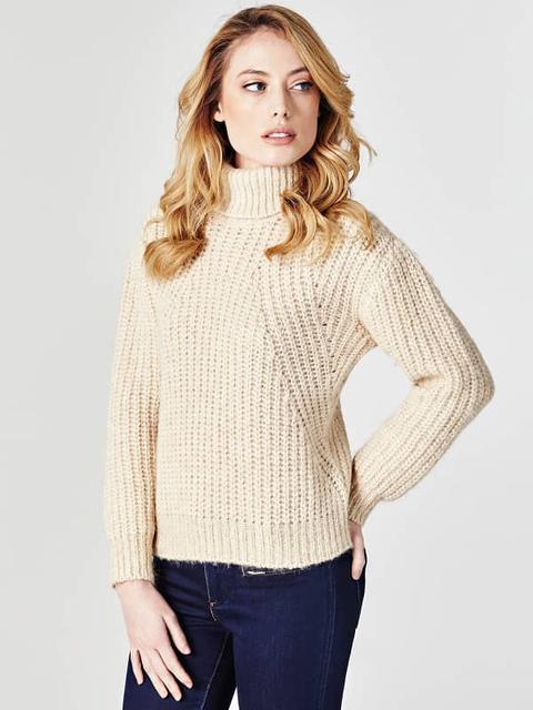 Suéter Cuello Alto Mixto Alpaca de Guess en 21 Buttons