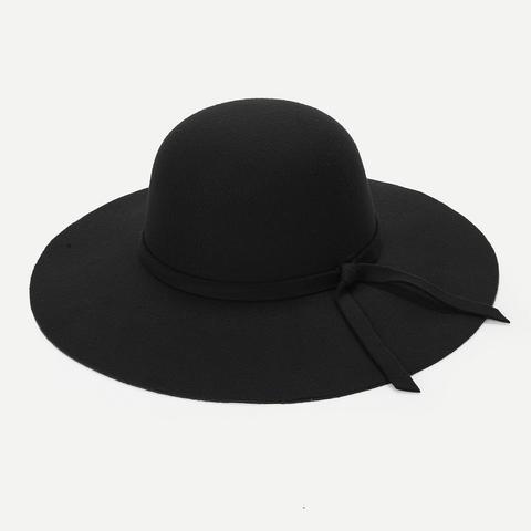 Sombrero De Fieltro De Ala Ancha