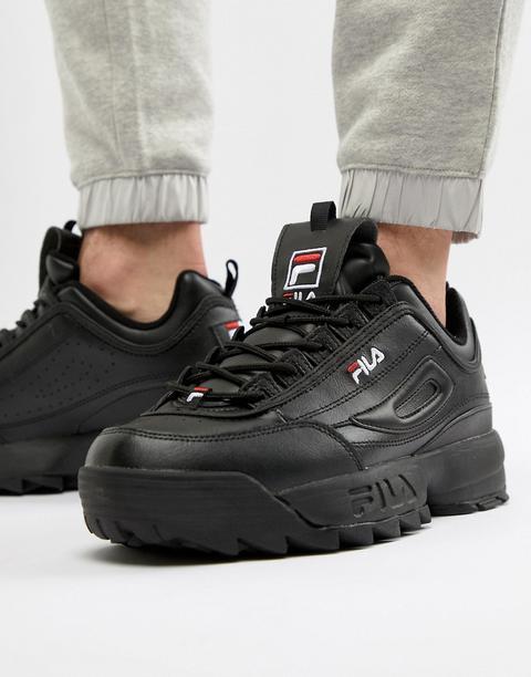 Zapatillas De Deporte En Negro Disruptor De Fila de ASOS en 21 Buttons