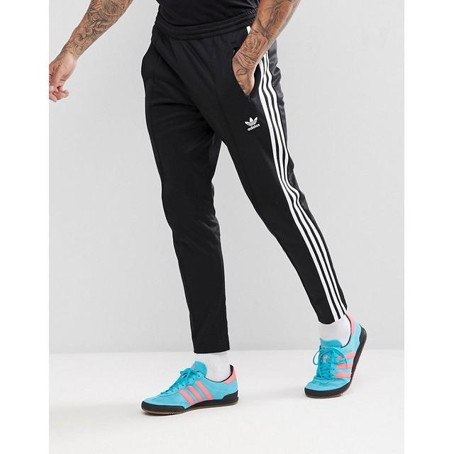 Adidas Originals - Adicolor Beckenbauer - Pantalon De Jogging Ajusté - Noir  Cw1269 from ASOS on 21 Buttons