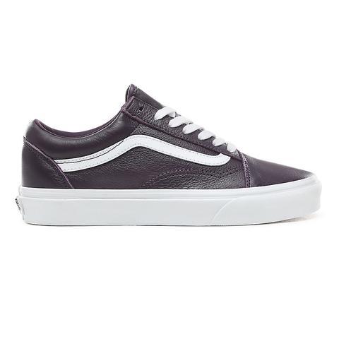 Chaussures En Cuir Old Skool from Vans on 21 Buttons